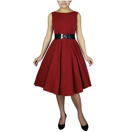 Bella Sleeveless Swing Dress