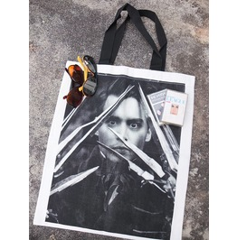Johnny Depp Fashion Pop Rock Summer Canvas Tote Bag