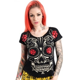 Jawbreaker Clothing Sugar Skull T Shirt