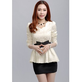 Women Blouses 2015 New Vintage Print Woman