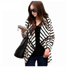 Jacket Women Long Sleeve Open Stitch Women's
