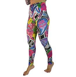 Acid Trip Abstract Art Leggings Design 94