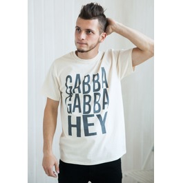 Punk Rock Shirt Gabba Gabba Hey! Retro Classic Vintage Punk Rock