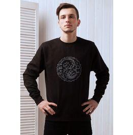 Yin Yang Dragon Sweatshirt Chinese Japanese Taoism Tai Chi Mens Womens Top