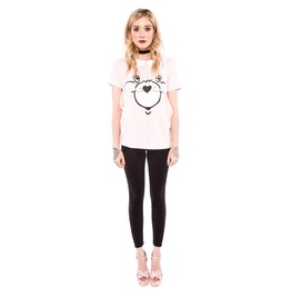 Iron Fist Clothing Pink Care Bear Stare Girly Tee