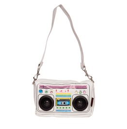 Jawbreaker Clothing White Boombox Mini