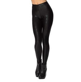 Black On Black Mermaid Leggings Design 567