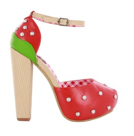 Iron Fist Shoes Strawberry Lips Platform