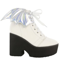 Iron Fist Shoes White Walker Platform Bootie
