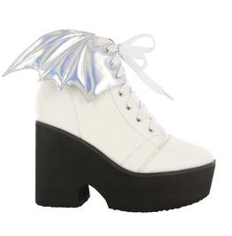 Iron Fist Shoes White Walker Platform Bootie