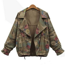 Army Green Jacket Women's