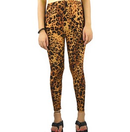 Brown And Black Cheetah Leggings