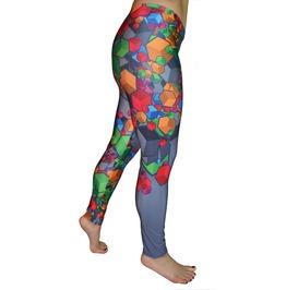 Colorful Cubes Leggings