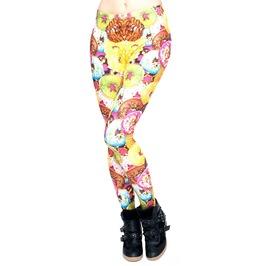 Colorful Donuts Leggings Design 576