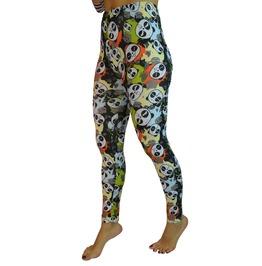 Colorful Pandas Leggings Size Medium