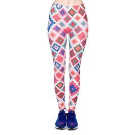 Colorful Patchwork Leggings