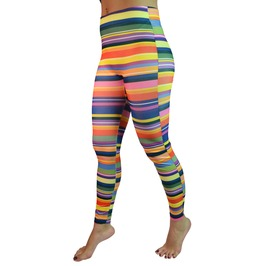 Colorful Rings Leggings Design 210