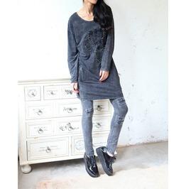 Punk Rock Long Sweater Women's