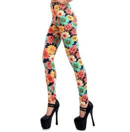 Colorful Sunflowers Leggings Design 284