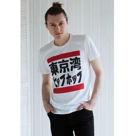 Japanese Shirt – Hip Hop Tokyo Bay – Retro Japan Streetwear Run Dmc Urban