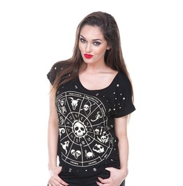 Jawbreaker Clothing Astro Print Short Sleeve Top