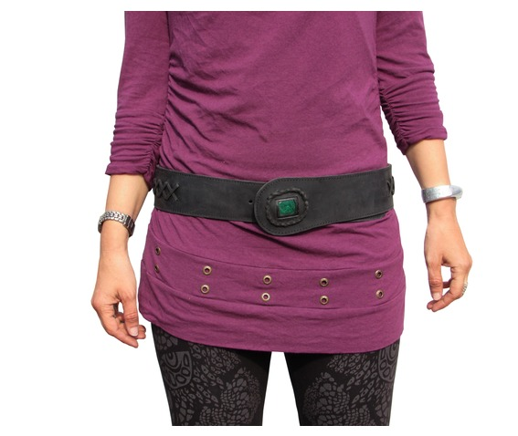 womens_black_leather_belt_snake_design_black_with_malachite_stone_belts_and_buckles_2.jpg