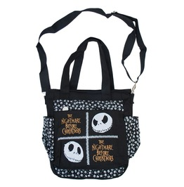 Nightmare Before Christmas Messenger Shoulder Bag Jack Skellington Faces