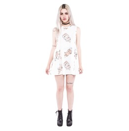 Iron Fist Clothing I'm Melting Trapeze Dress