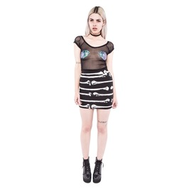 Iron Fist Clothing S'hell Mesh Crop