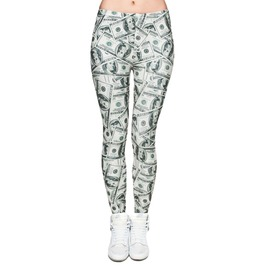 Dollar Bill Leggings Design 549
