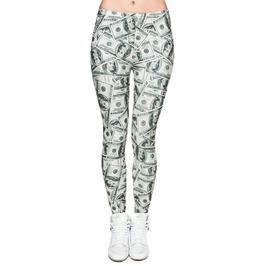 Dollar Bill Leggings Design 549