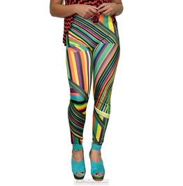 Geometric Colorful Leggings Design 247