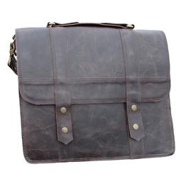 One Leaf Leather Messenger Bag X Pro Man Bag Burgundy Brown Leather