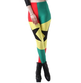 Ghana Flag Fifa World Cup Leggings Design 270