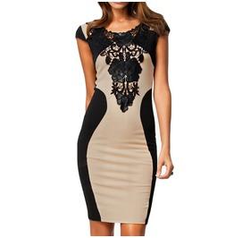 Floral Lace Dress Women's