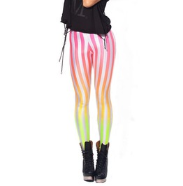 Gradient Stripes Leggings Design 281