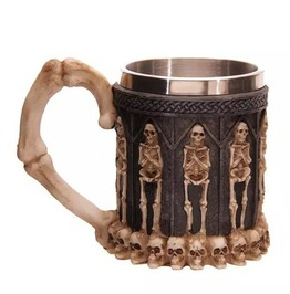 Bones Skeleton And Skulls Coffee Mug