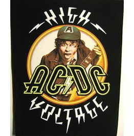 Ac/Dc Giant Back Patch Sew On High Voltage