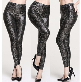 Sexy Snake Pattern Tight Leggings V1
