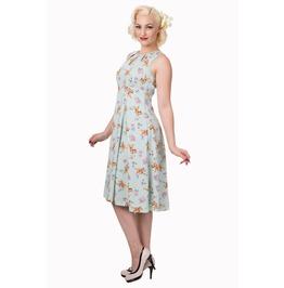 Banned Apparel Whimsical Sleeveless Mint Dress