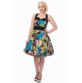 Banned Apparel Young Empire Halterneck Black Dress