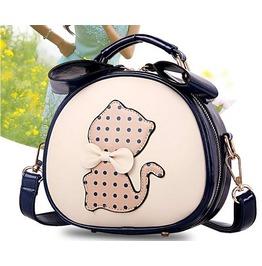 Women's Leather Handbags Cat