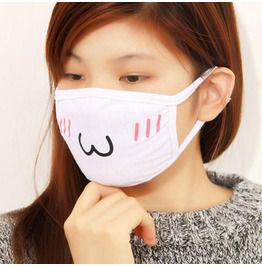Japanese Emoji Dust Mask