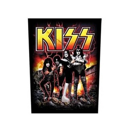 Kiss Back Patch Official Destroyer