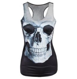Goth Skull Dark Tank Top