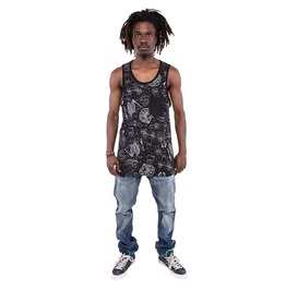 Iron Fist Clothing Peace Out Graphic Pocket Tank