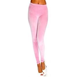 Light Pink Velvet Leggings Design 62