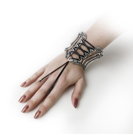 Tightlace Corset Bangle Ladies Bracelet By Alchemy Gothic