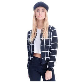 Bomber Short Jackets Slim Women's