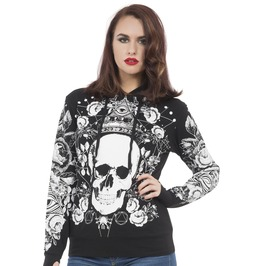 Jawbreaker Clothing Witches Heart Hoodie